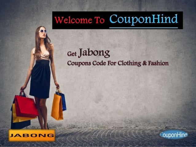 Discount coupon for jabong