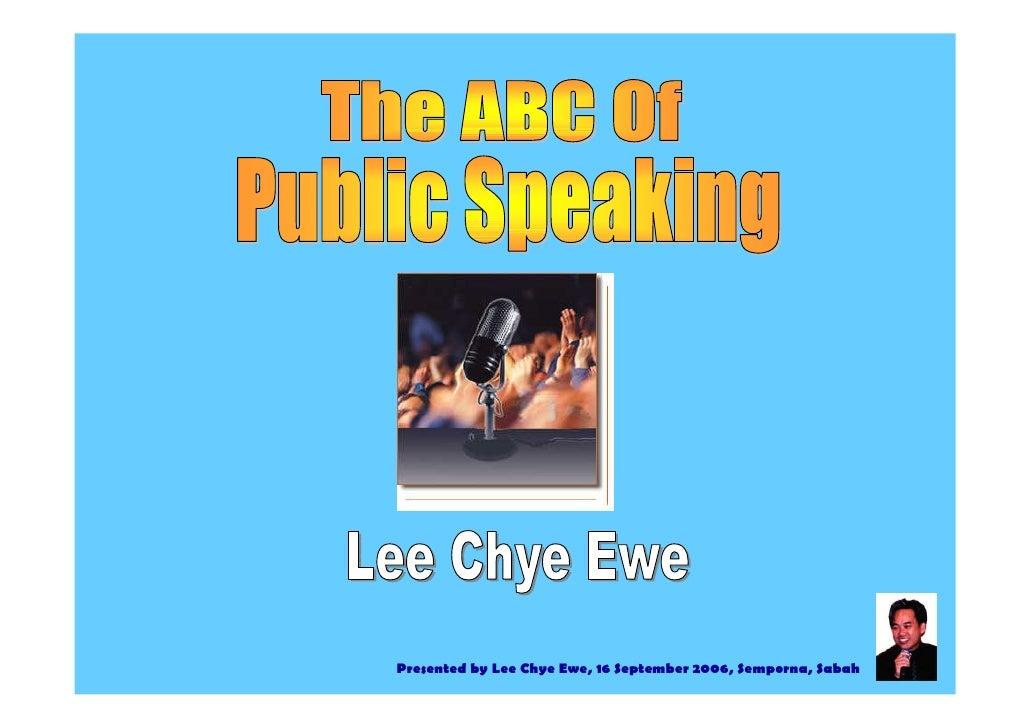 Presented by Lee Chye Ewe, 16 September 2006, Semporna, Sabah