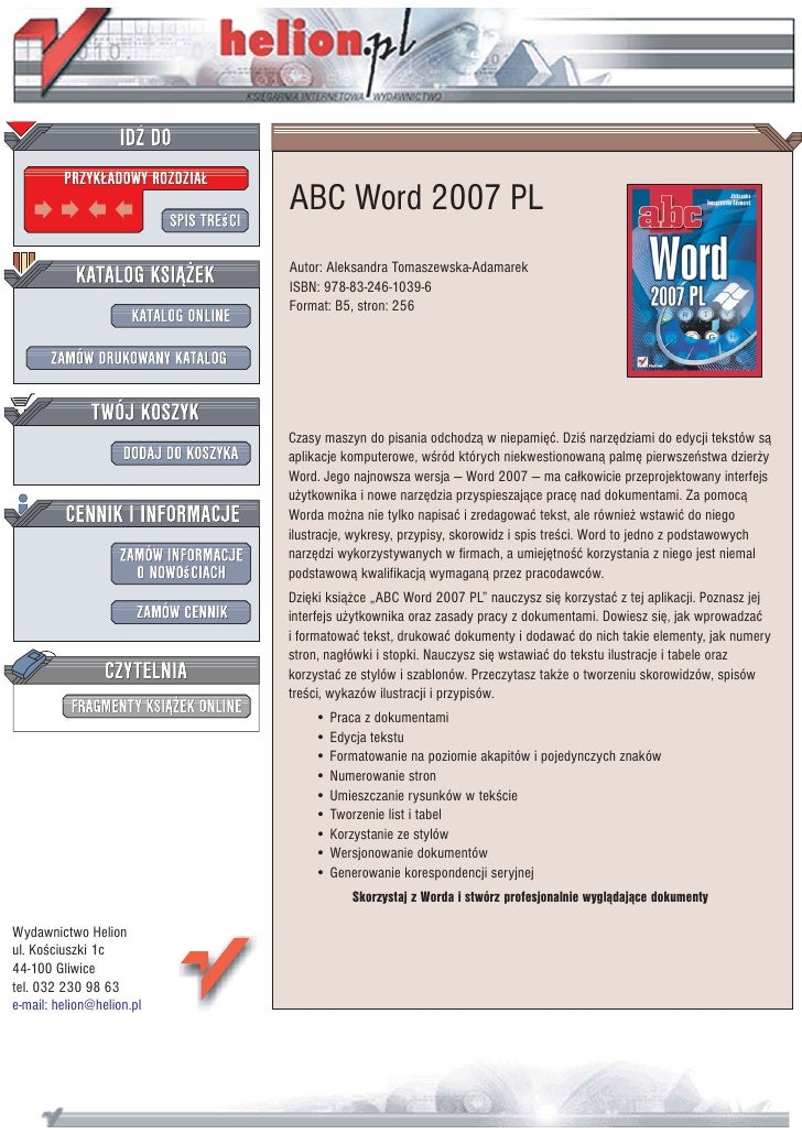 ABC Word 2007 PL