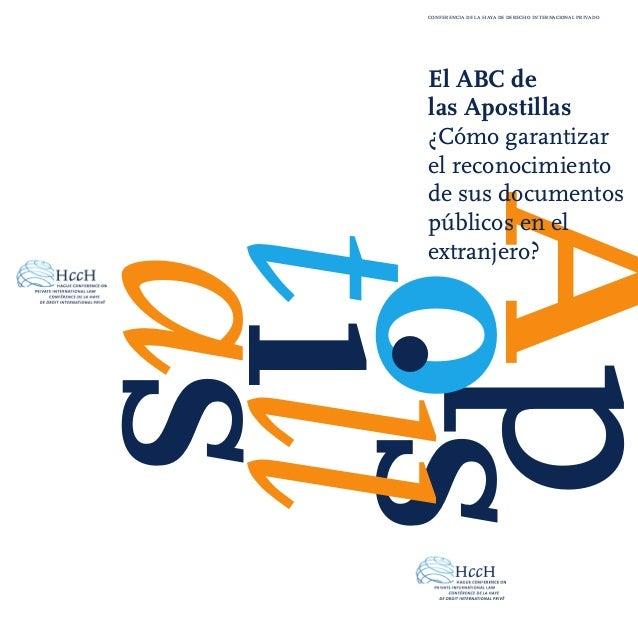 Apos tillas El ABC de las Apostillas ¿Cómo garantizar el reconocimiento de sus documentos públicos en el extranjero? confe...