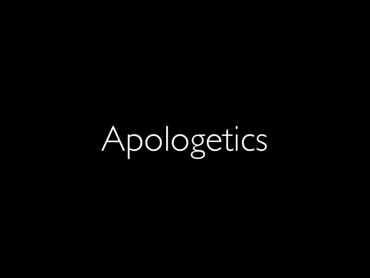 A1. Introduction to Apologetics
