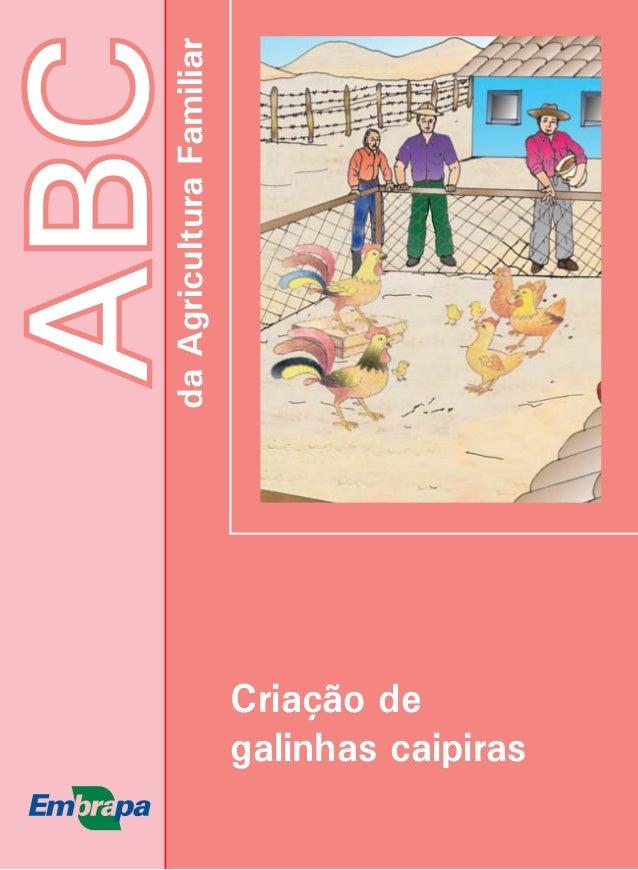 ABCdaAgriculturaFamiliar Criação de galinhas caipiras