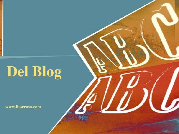 Abc del blog