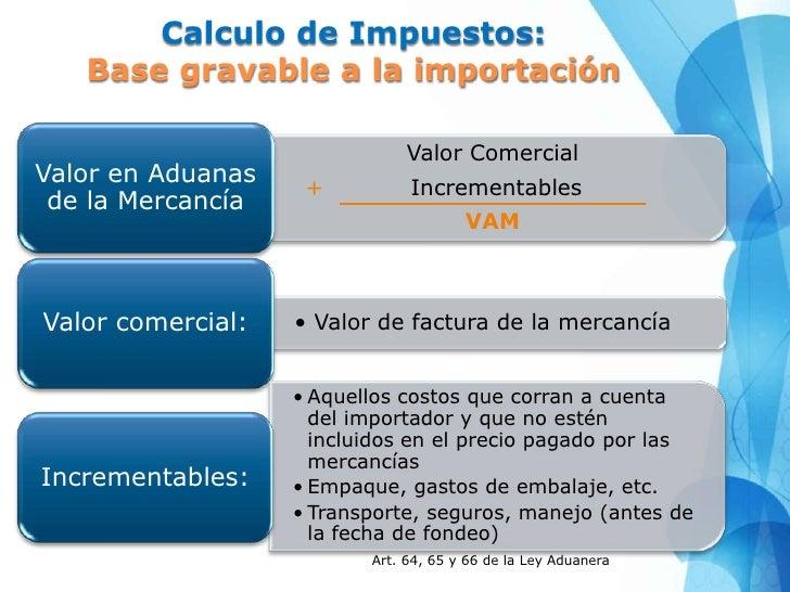 Abc comercio internacional - Calculo de impuestos al comercio exterior ...