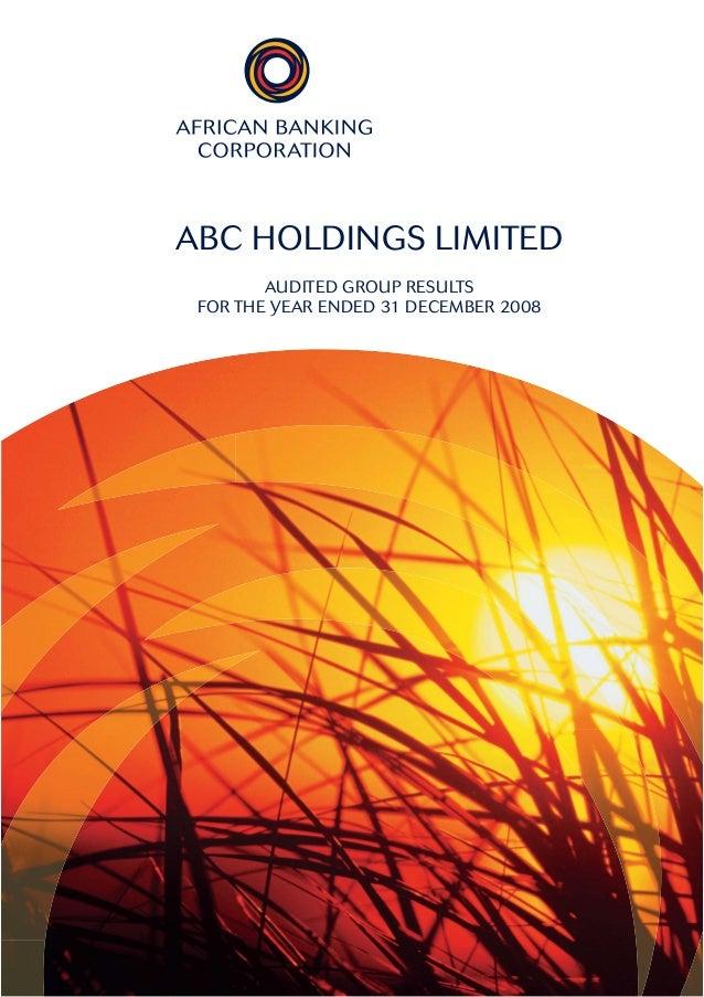 Abch results publication dec08