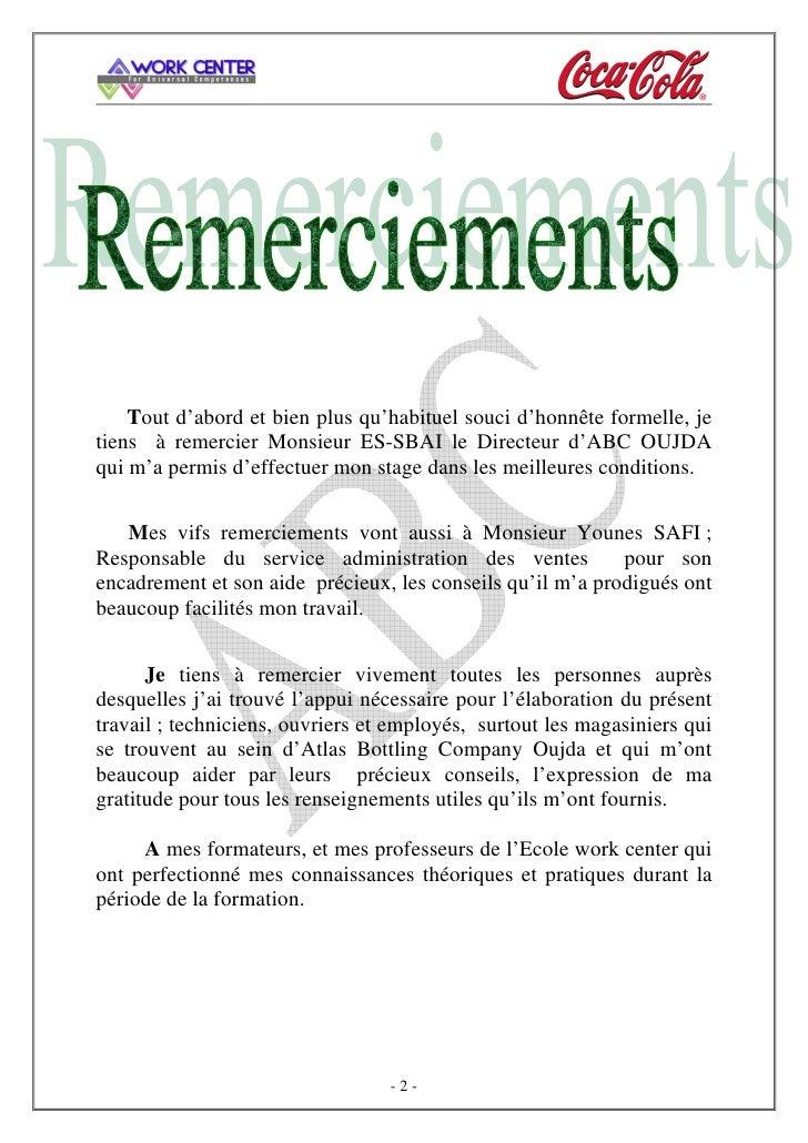 Modele rapport de stage related keywords modele rapport - Rapport de stage en cuisine ...