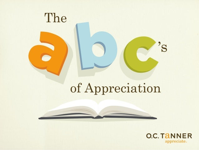 The of Appreciation s