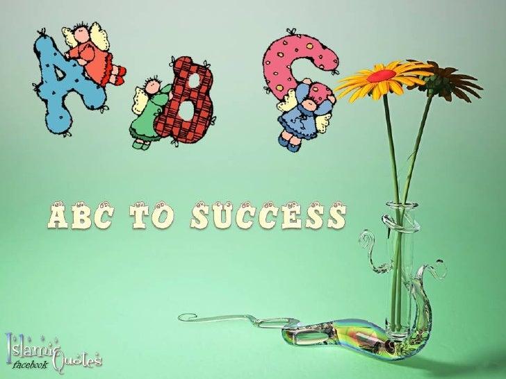Abc to success 1