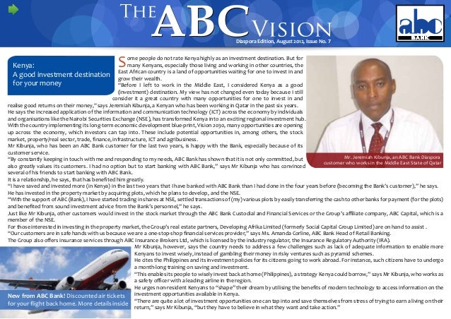 ABC Vision Diaspora Edition Issue NO. 7