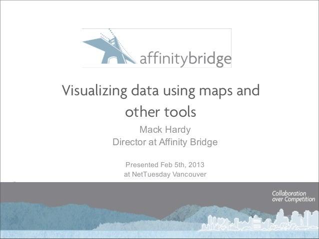 Data Visualization and Mapping using Javascript