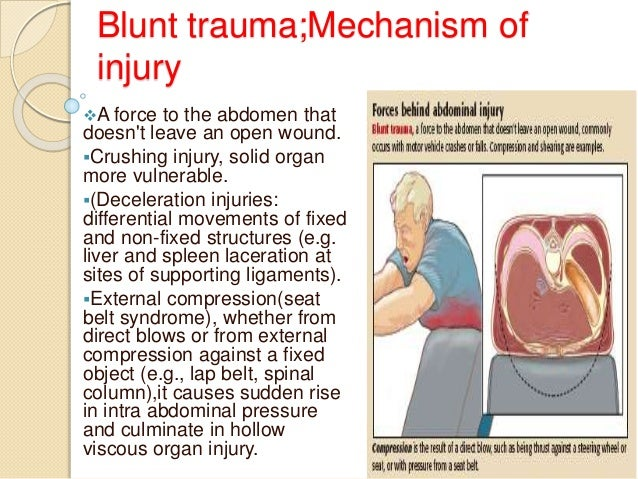 penetrating and blunt abdominal trauma