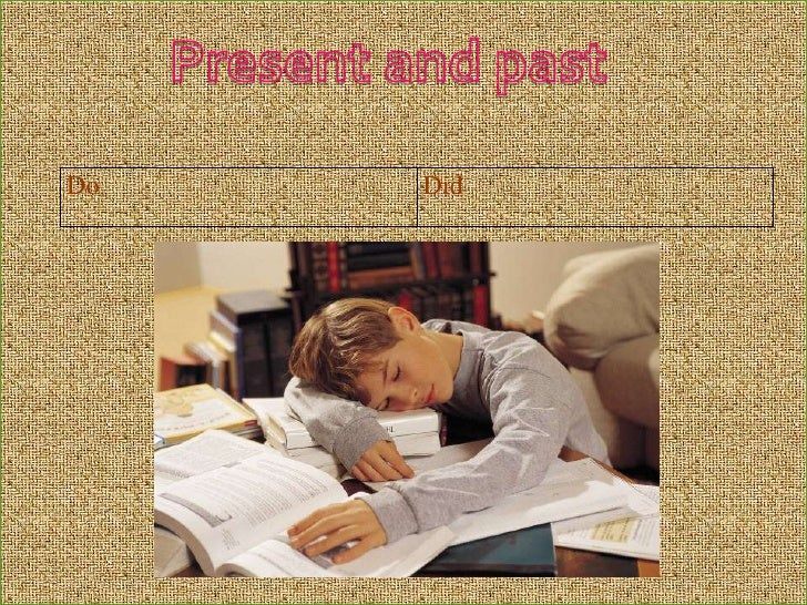 Present and past<br />
