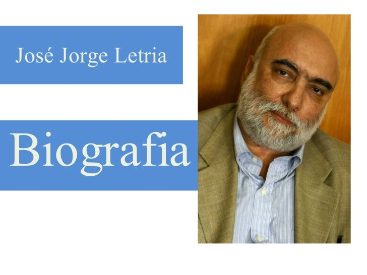 José Jorge Letria Biografia