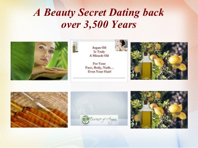 A Beauty Secret Dating Back, Over 3500 years