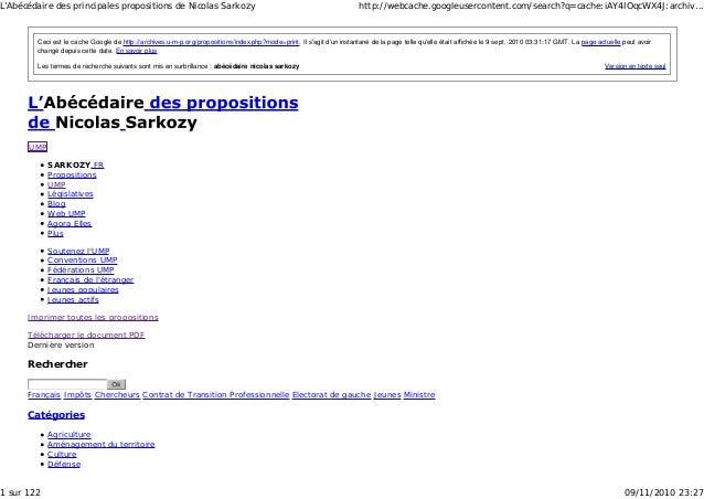 Version en texte seul Ceci est le cache Google de http://archives.u-m-p.org/propositions/index.php?mode=print. Il s'agit d...