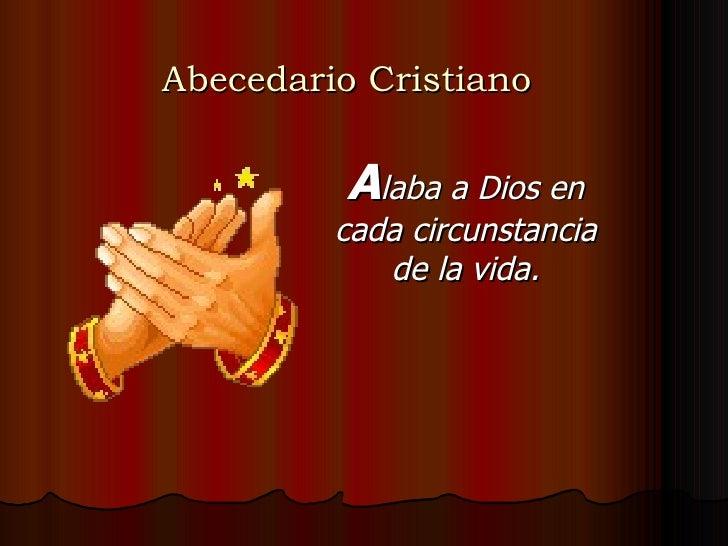 Abecedario del cristiano