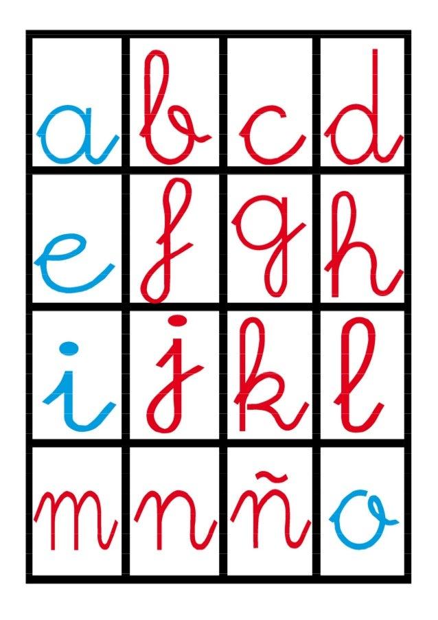 Abecedario folder game