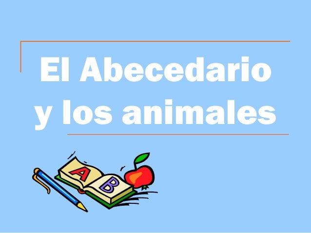 El Abecedarioy los animales