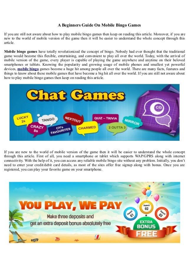 mobile bingo games
