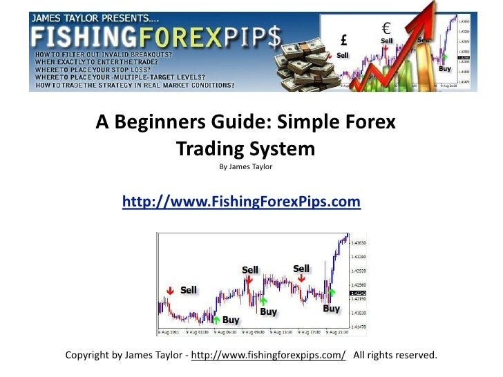 A Beginners Guide: Simple Forex              Trading System                                 By James Taylor            htt...
