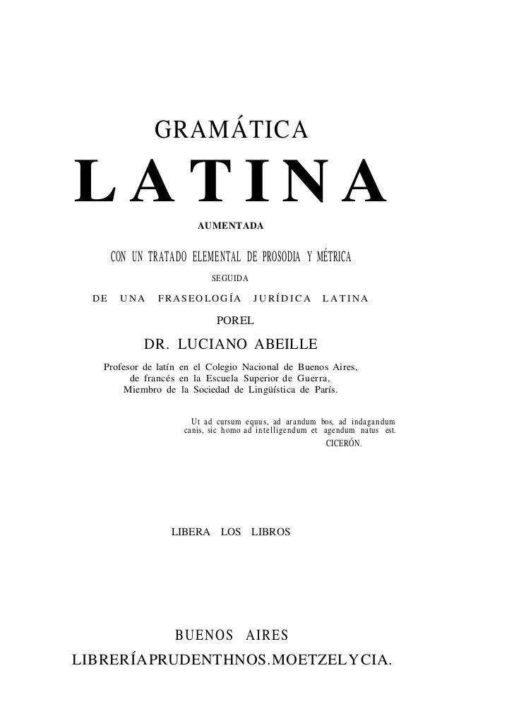 Abeille luciano   gramatica latina [pdf]