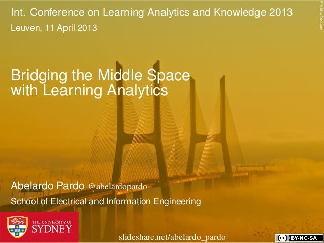 Bridging the Middle Space with Learning Analytics