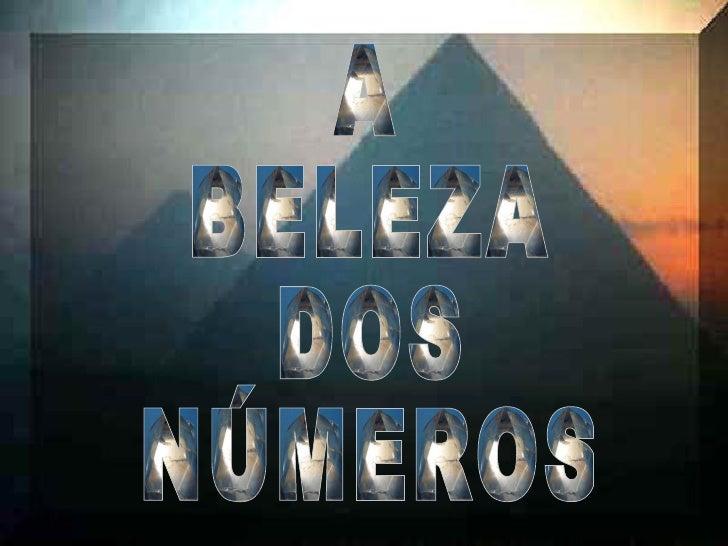 A beleza dos_numeros-vmfm