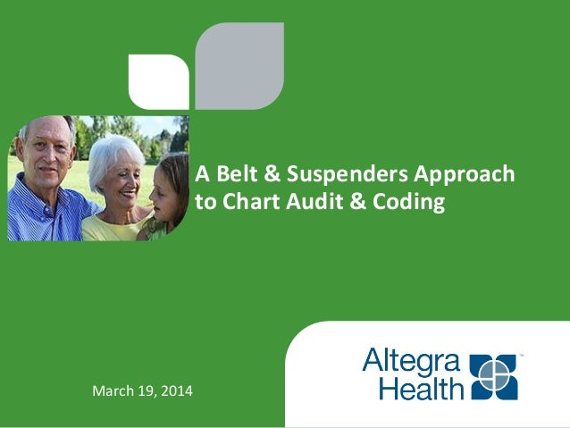 A  Belt  &  Suspenders  Approach           to  Chart  Audit  &  Coding   Marc...