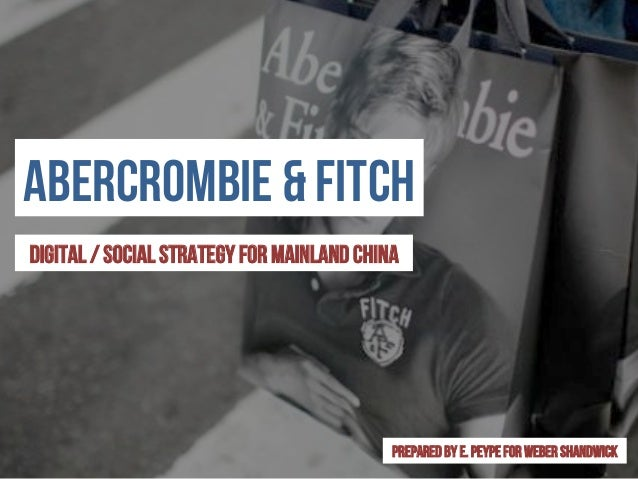 Abercrombie & fitch co. : retail – company profile, swot & financial analysis