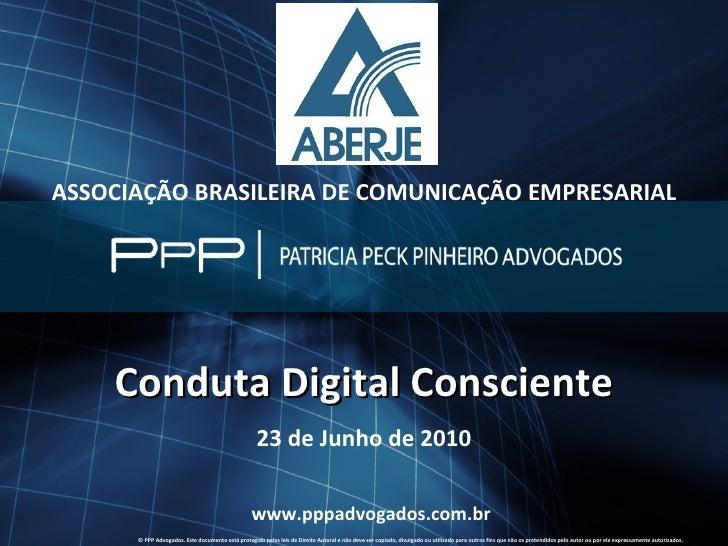 Comitê Digital - Código de Conduta Digital