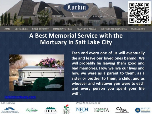 A best memorial service with the mortuary in salt lake city