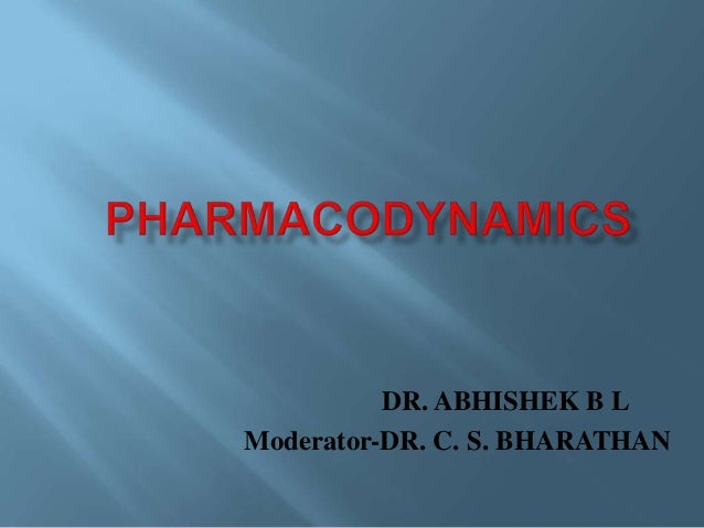 Pharmacodynamics