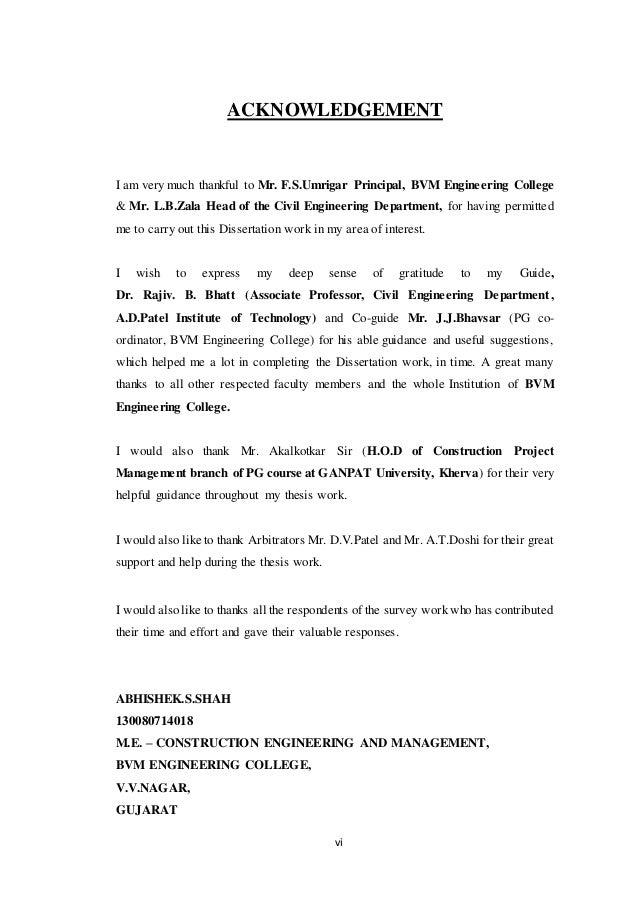 Dissertation on construction procurement