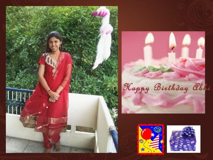 Happy Birthday Abhi