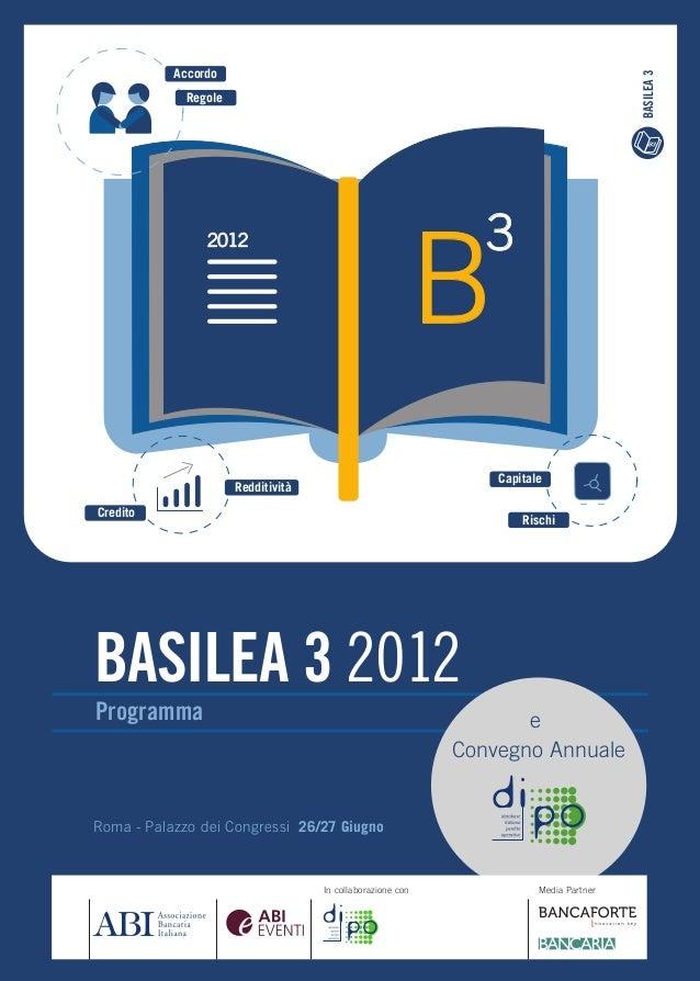 Accordo                                                                                       BASILEA 3             Regole...