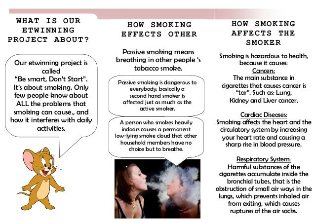 an essay on the health effects of smoking
