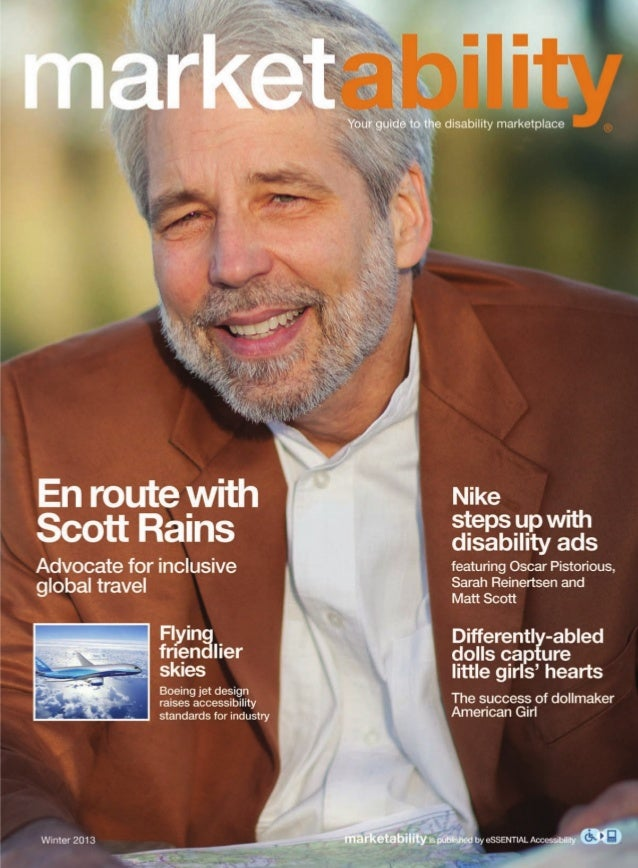 Scott Rains - Marketability - Ability Magazine Special Section