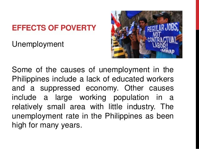 effects of unemployment to the philippine