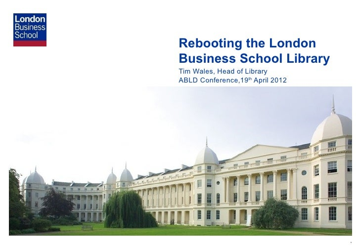 london business school essays 2012