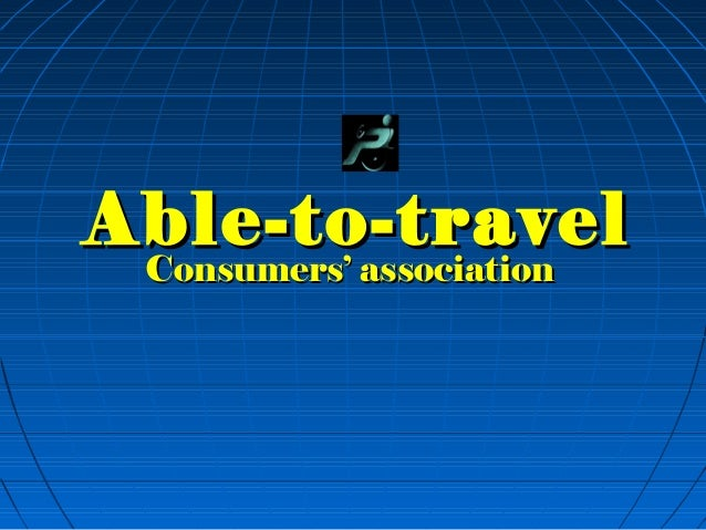 Able-to-travel presentation