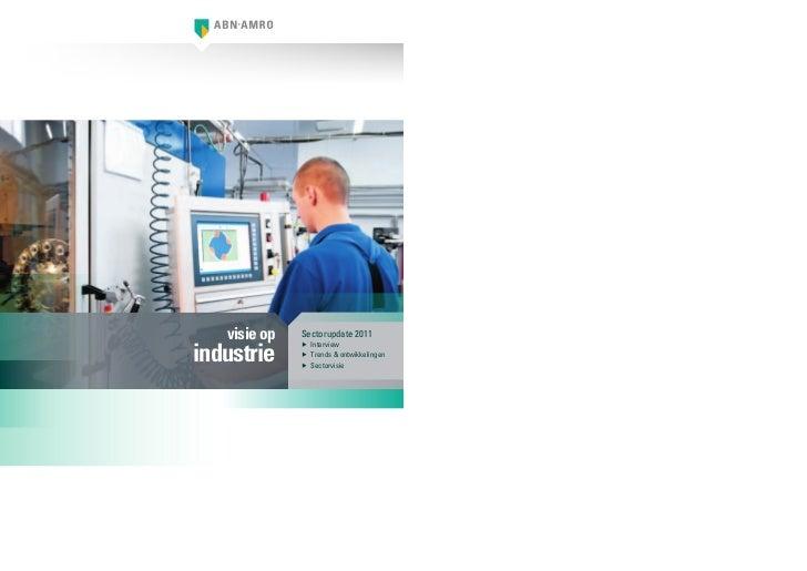 Visie op Sectoren Industrie 2011