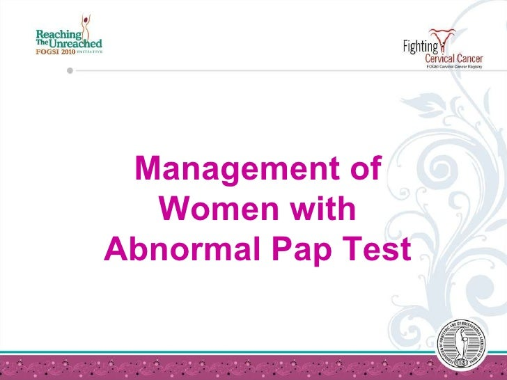Abnormal Pap Test