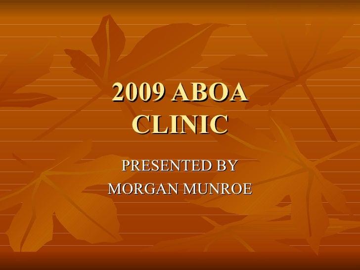 Aboa Clinic Presentation