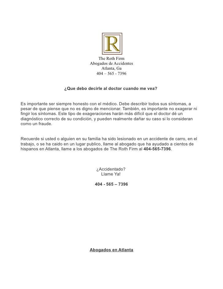 The Roth Firm                                   Abogados de Accidentes                                        Atlanta, Ga ...