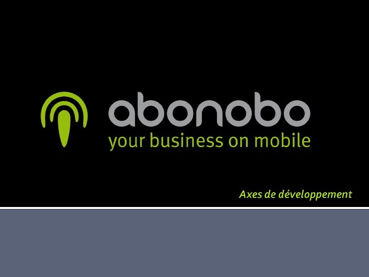 abonobo - your business on mobile