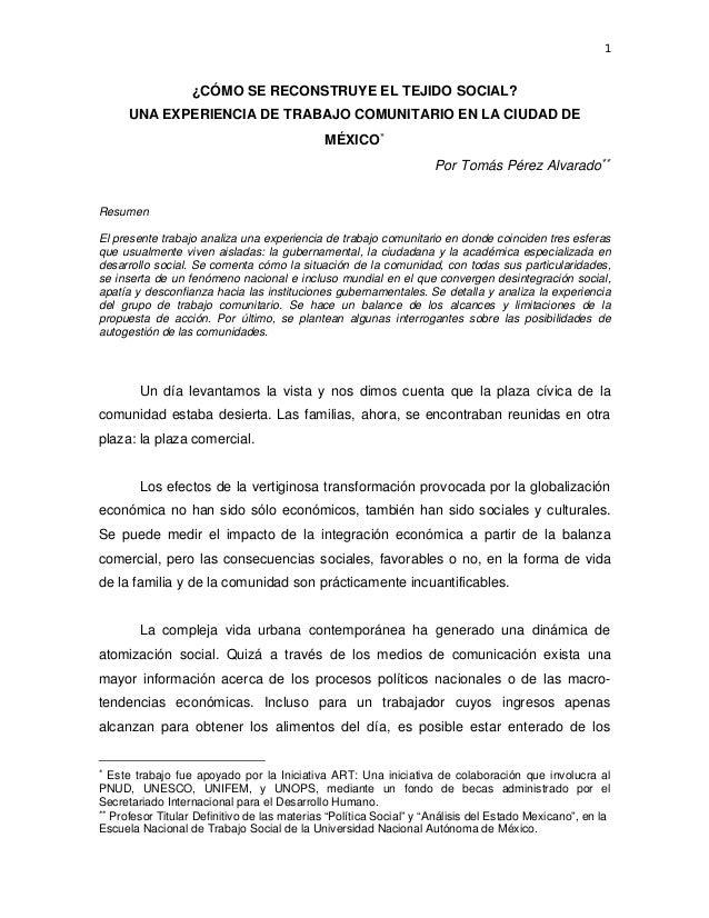 Abordaje comunitario en m xico 2 for Proyecto comedor comunitario pdf