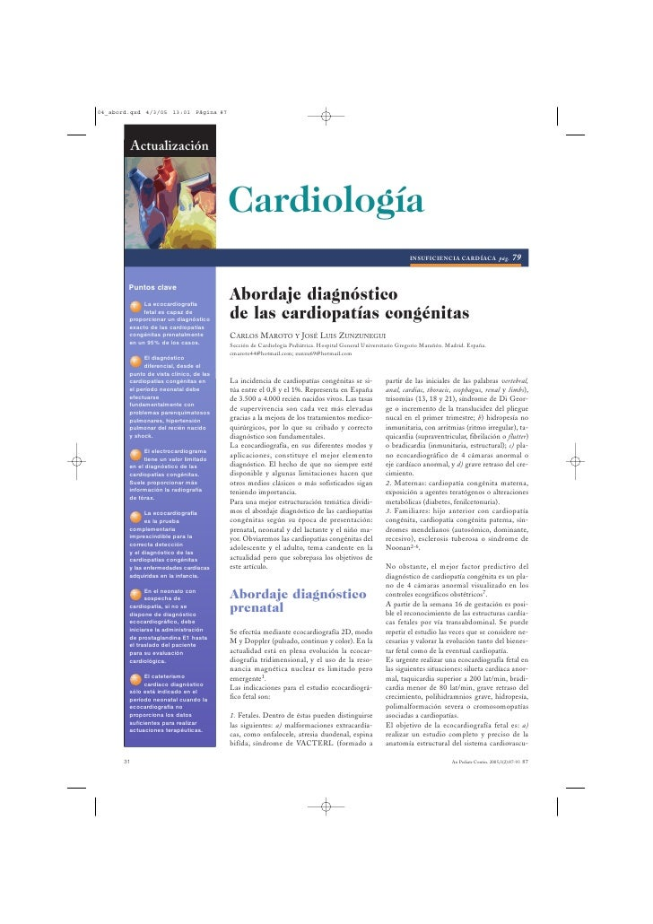 04_abord.qxd 4/3/05 13:01 Página 87            Actualización                                         Cardiología          ...