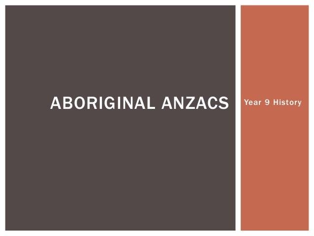 Aboriginal anzacs