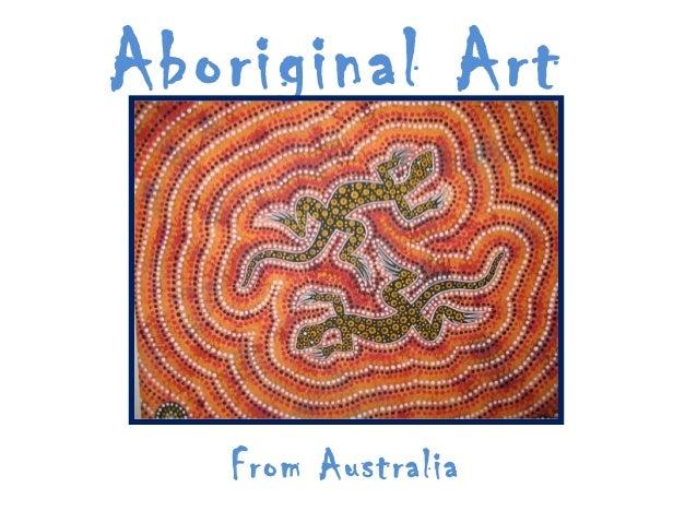 Aboriginal Art From Australia