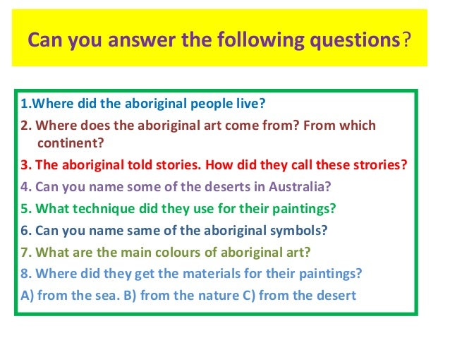 how to tell a story with aboriginal art